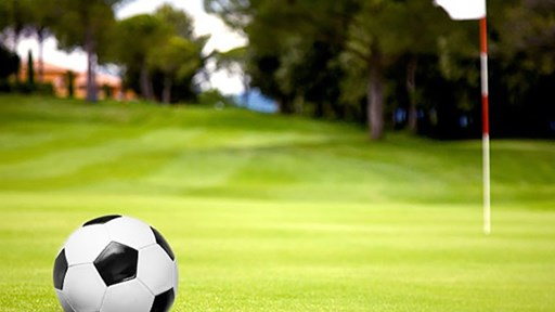 Prova på FootGolf